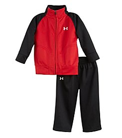 Under Armour® Boys' 2T-4T Two-Piece Tricot Pants Set