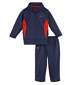 Under Armour® Boys' 2T-7 Two-Piece Tricot Pants Set