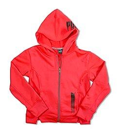 PUMA® Girls' 7-16 Fleece Hoodie