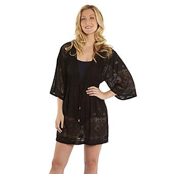 1a890c6b75 ... Black UPC 847873032642 product image for Dotti Geo Print Tunic Kimono