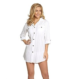 Dotti Sanibel Island Shirt Dress Cover-Up