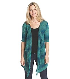 Ruby Rd.® Cascade Front Fringe Cardigan