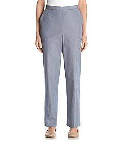 Alfred Dunner® Sausalito Stripe Regular Pant
