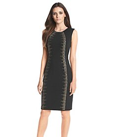Calvin Klein Studded Sheath Dress