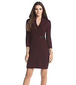 Calvin Klein Cable Knit Sweater Dress