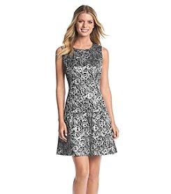 Nine West® Floral Drop Waist Dress