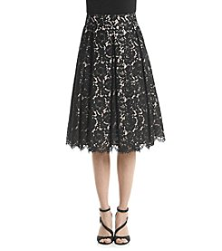 Eliza J® Lace Midi Skirt
