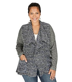 Lucky Brand® Plus Size Sweater Wrap