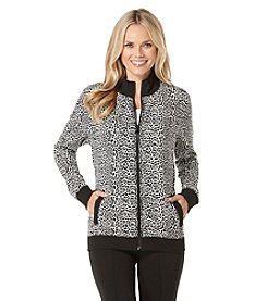 Rafaella® Petites' Leopard Print Jacket
