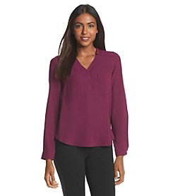 Nine West® Lightweight Crepe Blouse