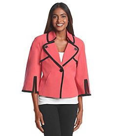 Nine West® Framed Cape Jacket
