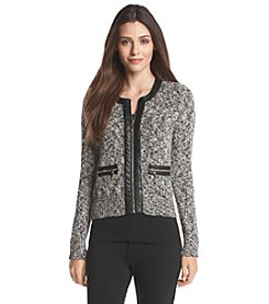 Ivanka Trump® Zip-Front Sweater