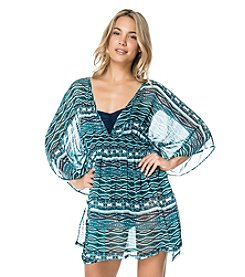 Jessica Simpson Diamond Daze Tunic Coverup