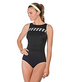 Reebok® Pretty Pleatz One-Piece