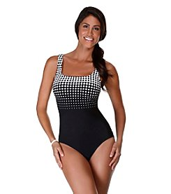 Reebok® Dots To Diamonds One-Piece