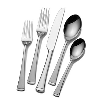 Gourmet Basics by Mikasa® Contempo 20-pc. Flatware Set
