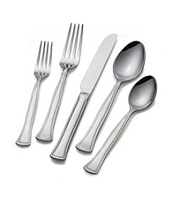 Gourmet Basics by Mikasa® Chadwick Bead 20-pc. Flatware Set