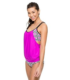 NEXT by Athena® Weekend Warrior Double Up Tankini: D Cup Only