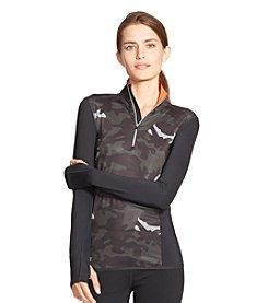Lauren Active® Camo-Print Half-Zip Pullover