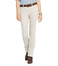 Lauren Jeans Co.® Corduroy Straight Pant