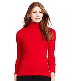 Lauren Ralph Lauren® Ribbed Turtleneck Sweater