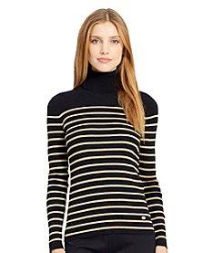 Lauren Ralph Lauren® Striped Turtleneck Sweater