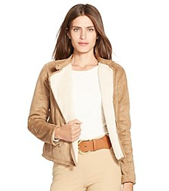 Lauren Ralph Lauren® Faux-Suede Full-Zip Jacket