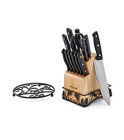 Pfalzgraff® 14-pc. Cutlery Set with Bonus Trivet