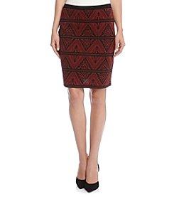 Karen Kane® Jacquard Skirt