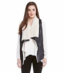 Karen Kane® Faux Fur Vest