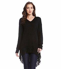 Karen Kane® Fringe Sweater