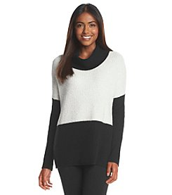 August Silk® Colorblock Sweater