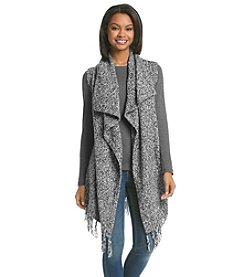 Kensie® Fringe Sweater Vest