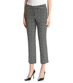 XOXO® Check Print Trouser Leggings