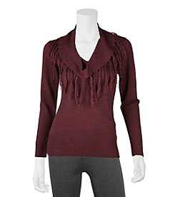 A. Byer Fringe Sweater