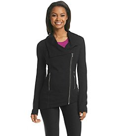 Kensie® Performance Asymmetric Moto Jacket