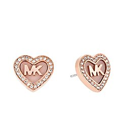 Michael Kors® Rose Goldtone Blush Acetate Valentine's Day Earrings