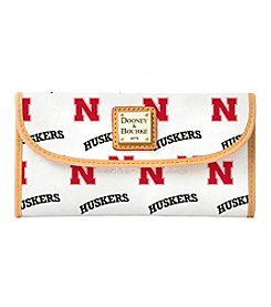 Dooney & Bourke® NCAA® Nebraska Continental Clutch