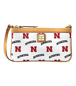 Dooney & Bourke® University of Nebraska Large Slim Wristlet