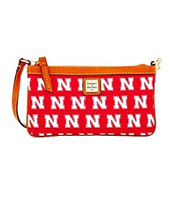 Dooney & Bourke® NCAA Nebraska Large Slim Wristlet