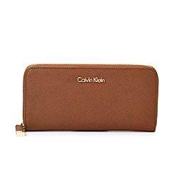 Calvin Klein Saffiano Zip Wallet
