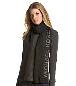 Michael Kors® Heat Seal Studded Logo Scarf