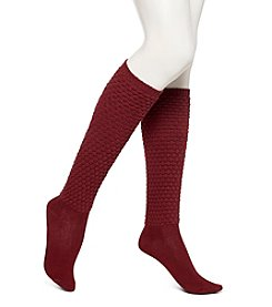 HUE® Quilted Knee Socks
