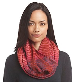 Echo Open Knit Spacedye Infinity Scarf