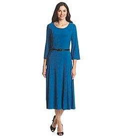 Lennie Jewel Neck Midi Dress