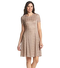 S.L. Fashions Glitter Lace Party Dress