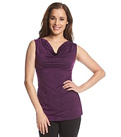 Tahari by Arthur S. Levine® Embossed Knit Top