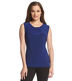 Tahari by Arthur S. Levine® Scoopneck Knit Top