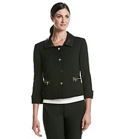 Tahari By Arthur S. Levine® Faux Leather Jacket