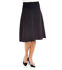 Calvin Klein Skirt With Rib Stripe Detail